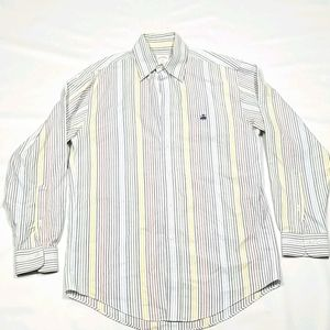 Brooks Brothers Mens Front Button Up Shirt Sz S